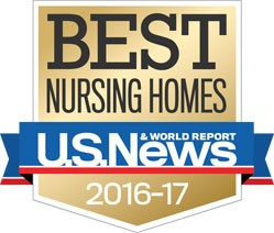 Best Nursing Homes by U.S. News & World Report 2016-2017