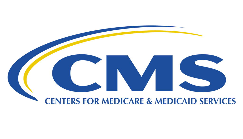 CMS Centers for Medicare and Medicaid Services logo.