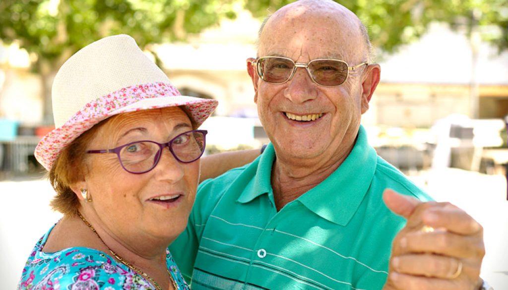 Elderly Dancing Couple 1 - edit