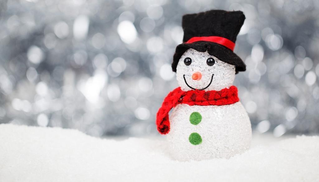 Artificial snowman
