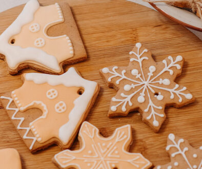 Decorative sugar cookies