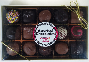 Assorted Chocolates from Candy Shop
