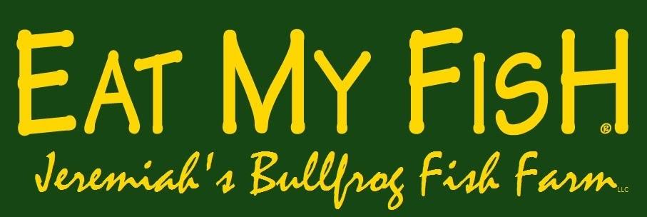 Jeremiah's Bullfrog Farm - Eat My Fish Logo